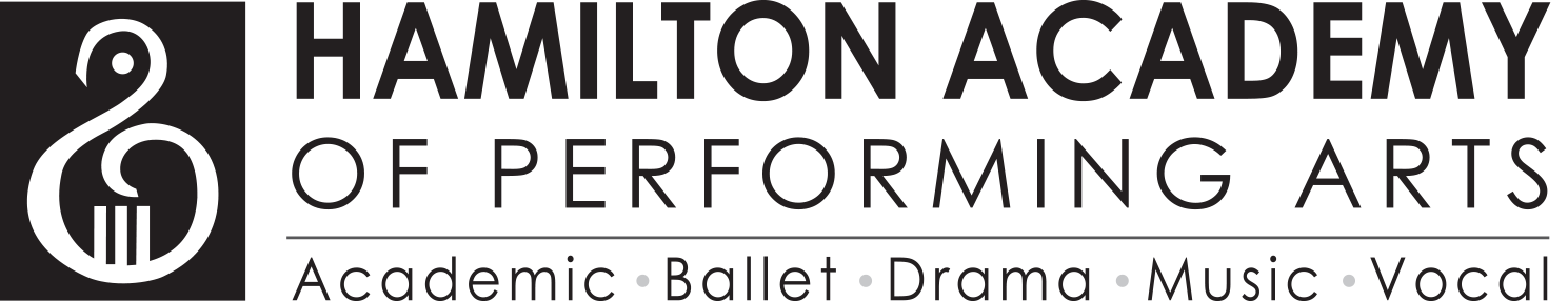 Hamilton Academy of Performing Arts Logo